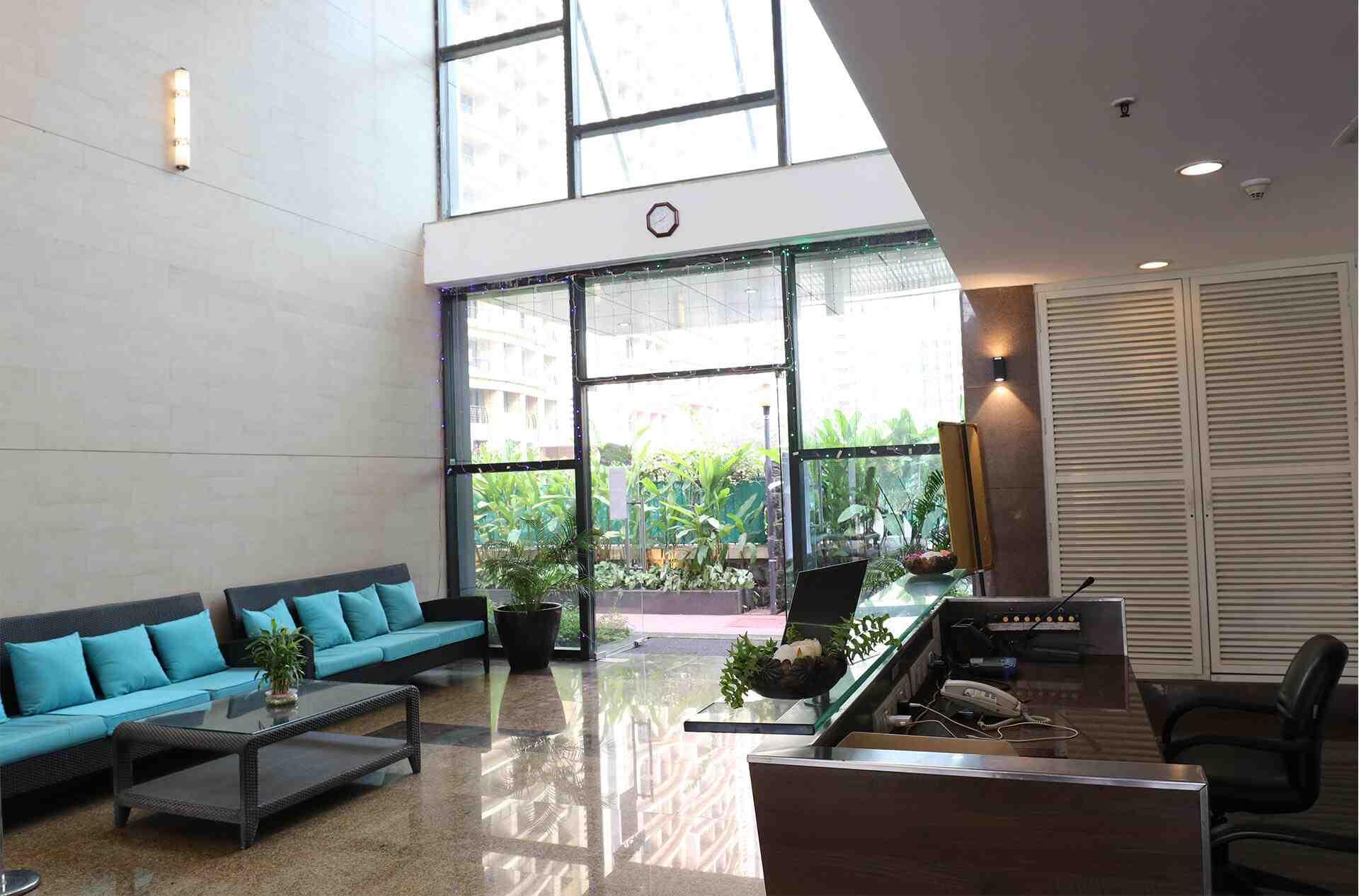 double height lobby